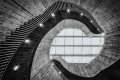 Brutalismus-Doppelhelix