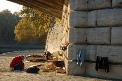 Unter römischer Brücke