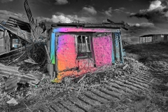 Regenbogenhütte