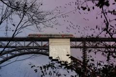 Ingo Zug auf Brücke