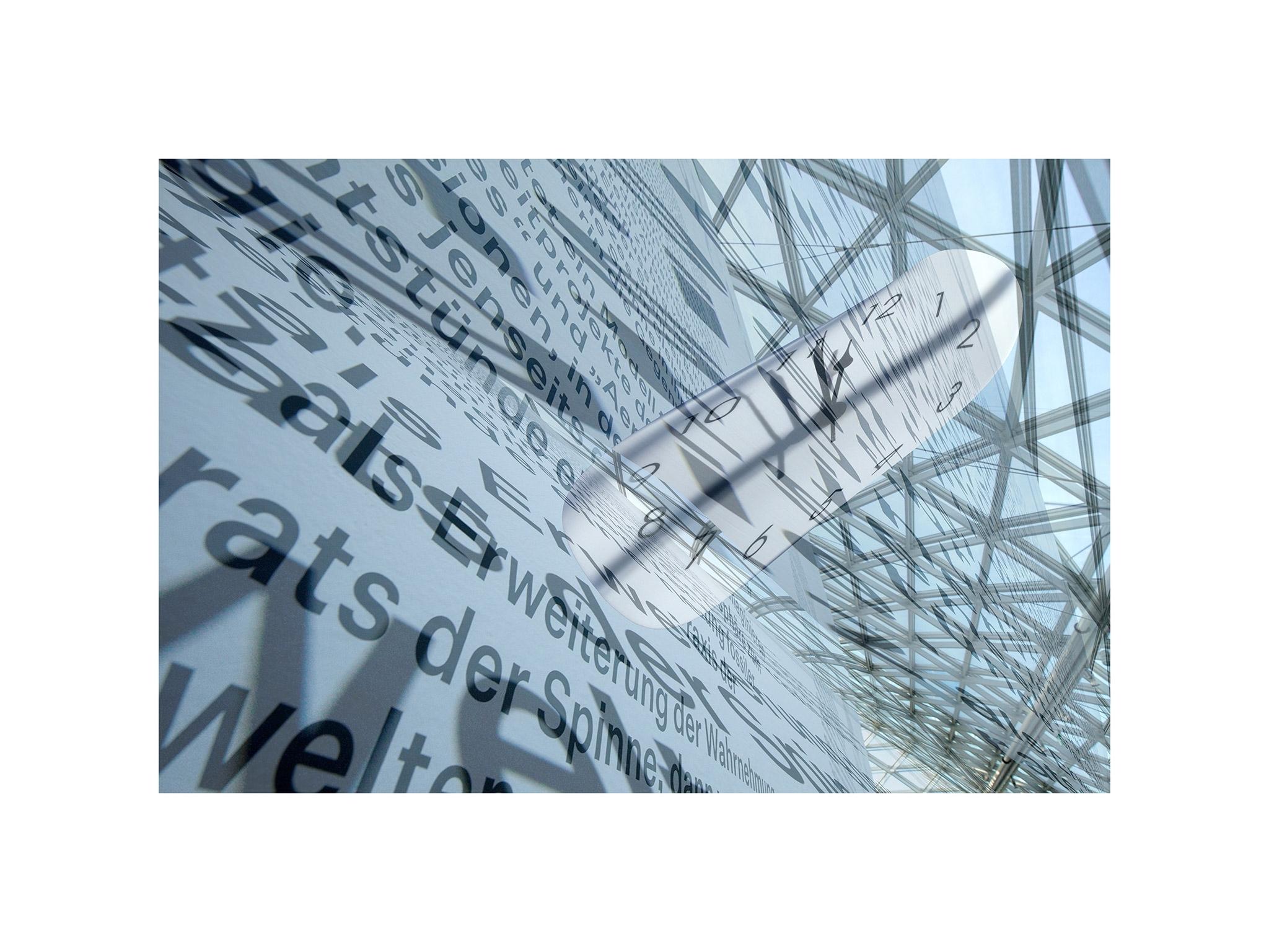 Kunstprojekt, Worte kosten Zeit, Wilfried Malkusch