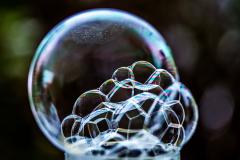 Blasenwolke
